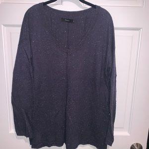 Navy Aritzia Wool sweater
